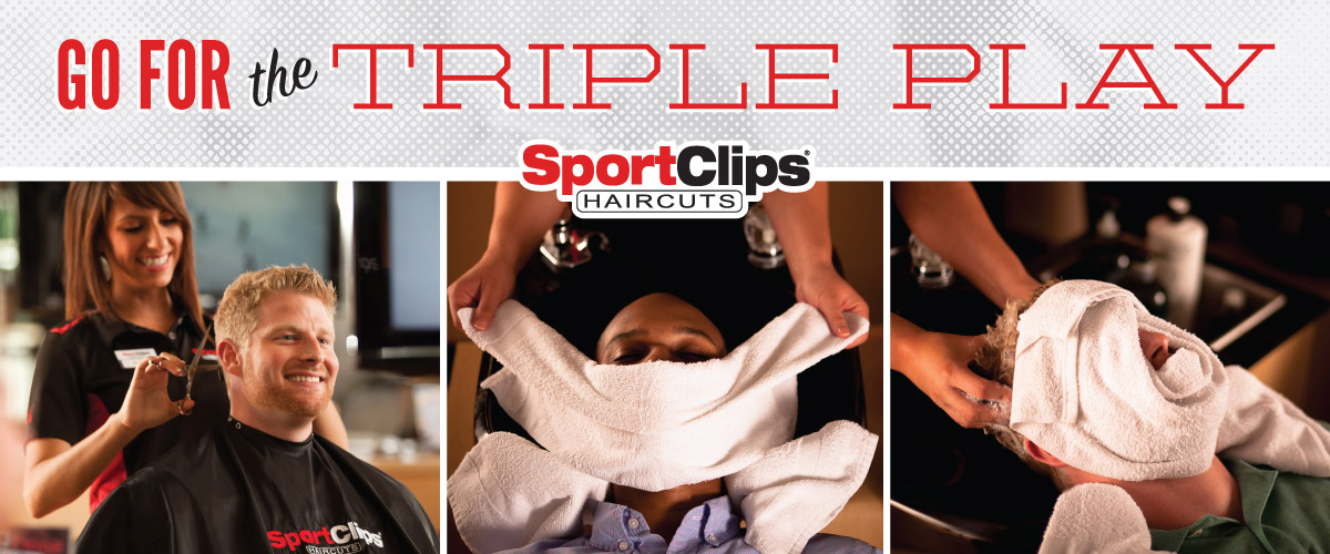 The Sport Clips Haircuts of Lafayette Triple Play